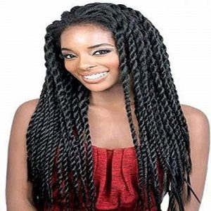 Synthetic Braided Lace Wigs